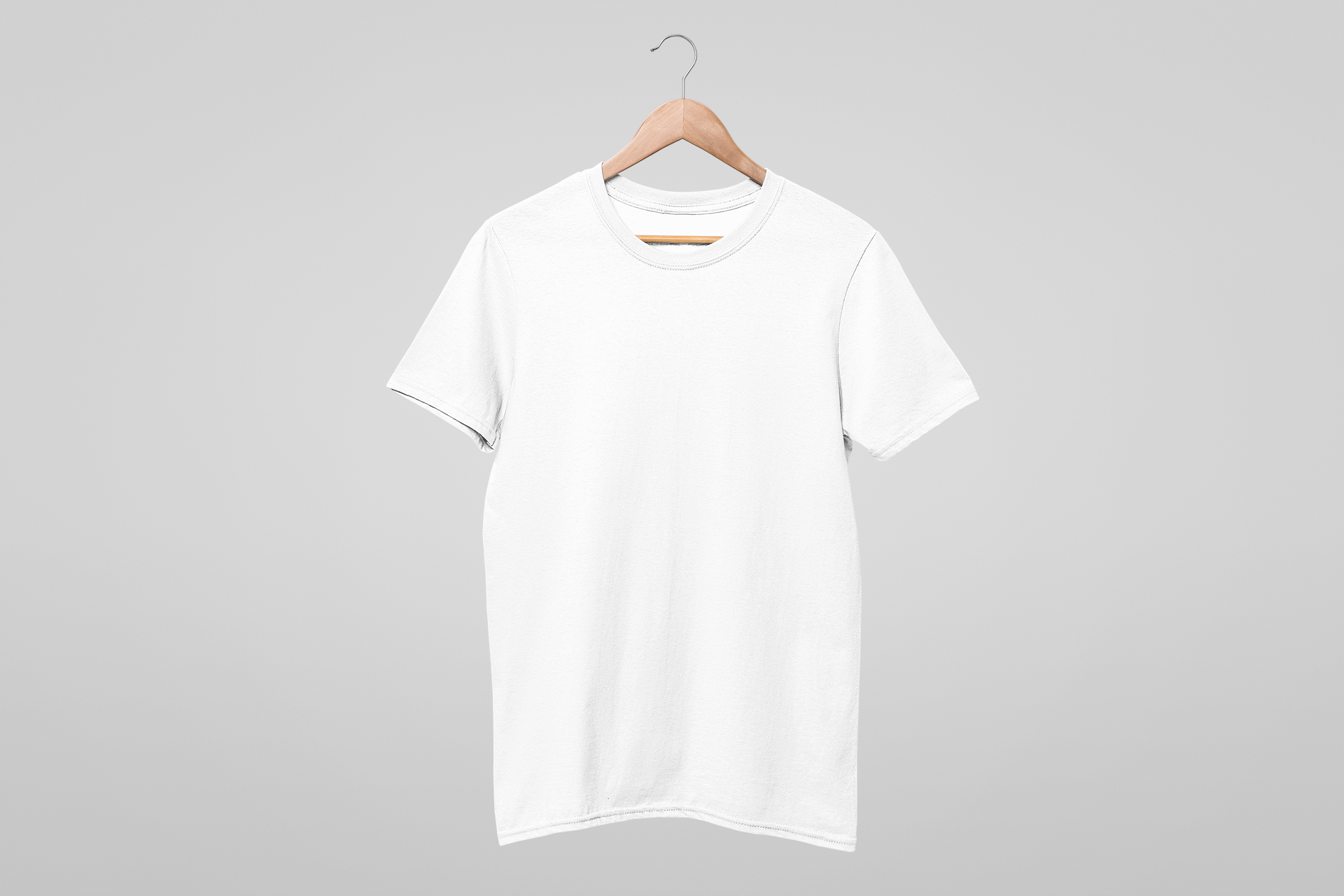 mockup-of-a-t-shirt-hanging-against-a-solid-background-26878